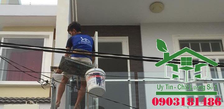 Dịch vụ sơn nhà đẹp giá rẻ uy tín