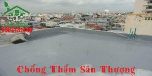 Chống thấm sân thượng {TPHCM + Bình Dương + Đồng Nai}