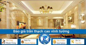 Thi công đóng trần thạch cao tại TPHCM, Bình Dương, Đồng Nai