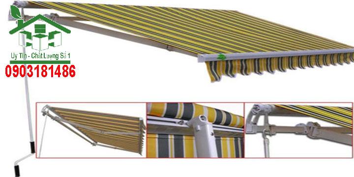 Chuyên thi công mái bạt xếp, bạt kéo tại TPHCM - Bình Dương - Đồng Nai