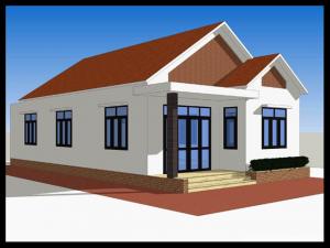 nhân báo giá xây nhà cấp 4 mái thái rẻ nhất