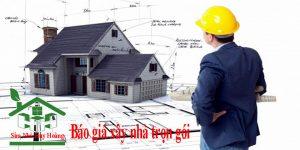 Báo giá xây nhà trọn gói chất lượng – giá rẻ nhất thị trường