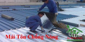 Chuyên nhận làm mái tôn chống nóng giá rẻ