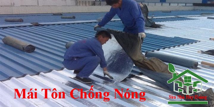 Chuyên nhận làm mái tôn chống nóng