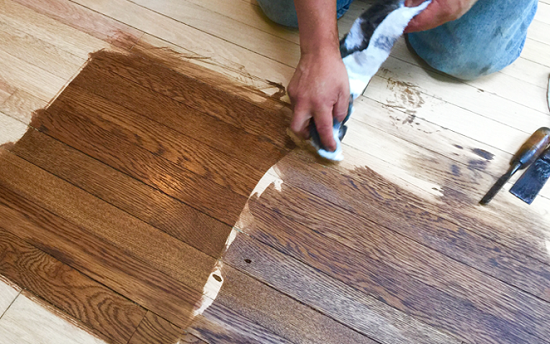 phục hồi sàn gỗ