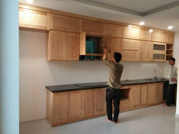 lắp đặt tủ bếp