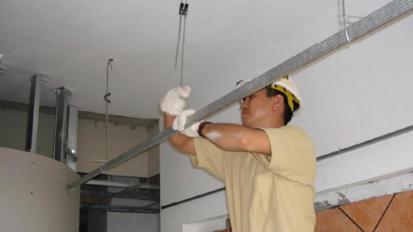sửa chữa thạch cao