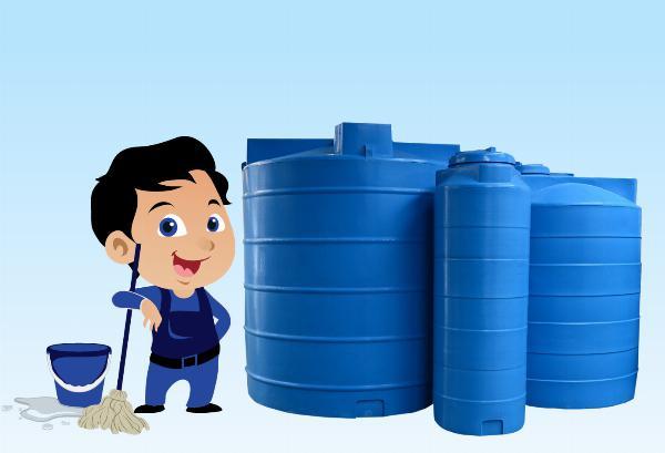 vệ sinh sửa chữa bồn nước