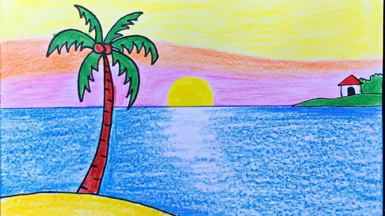 Phong cảnh biển đẹp và thu hút