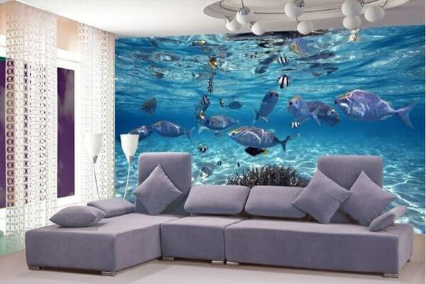 Unterwasserwelt wandgestatung
