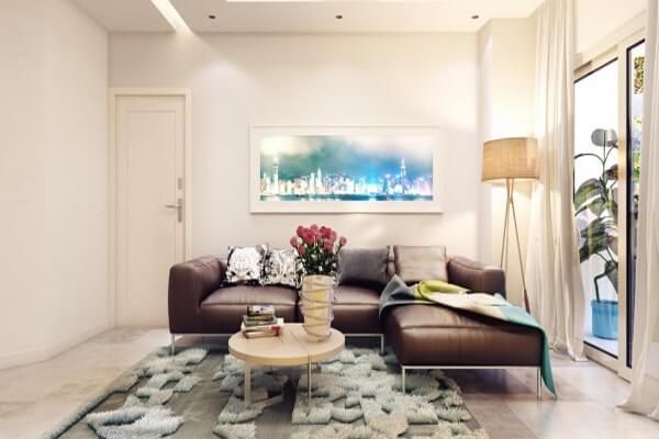 Sự kết hợp giữa nhiều gam màu cũng góp phần tạo điểm nhấn cho không gian nhà bạn