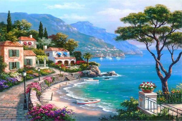 Phong cảnh biển đẹp lãng mạng