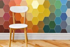 Mẫu phòng ngủ đẹp cho người thích gam màu trầmMẫu gạch bông với sự kết hợp nhiều màu sắc