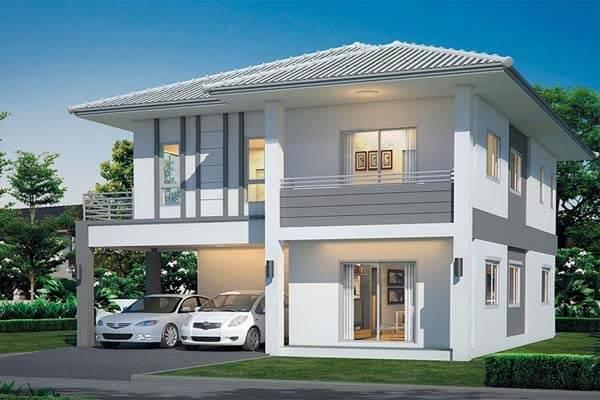 Thiết kế nhà theo phong cách đơn giản