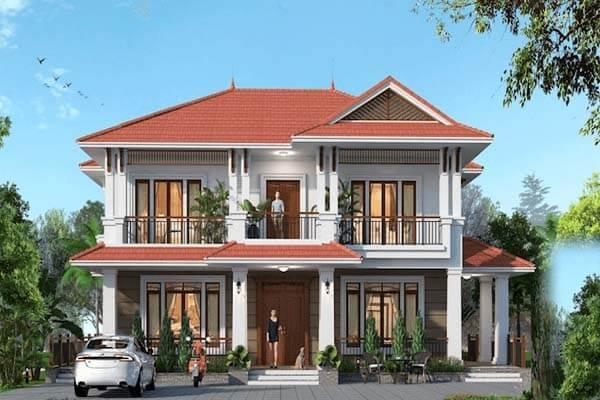 Thiết kế nhà theo phong cách hoài cổ