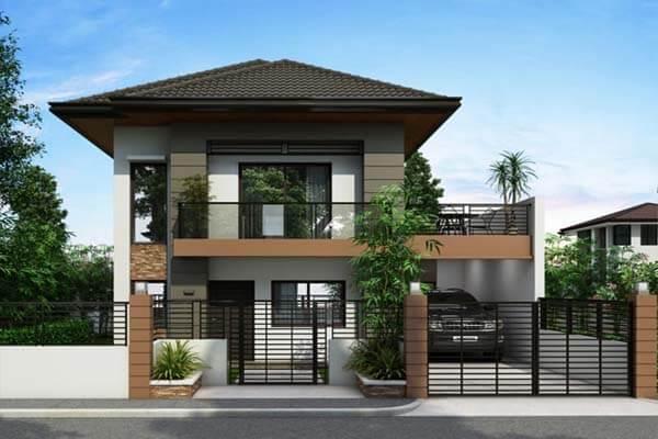 Thiết kế nhà theo phong cách hiện đại
