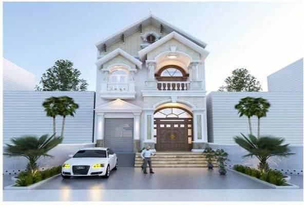 Thiết kế nhà theo phong cách sang trọng