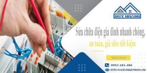 Sửa chữa điện gia đình